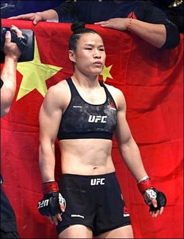Zhang Weili Height Weight Stats