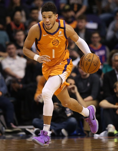 Devin Booker Height Weight Shoe Size