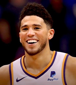 NBA star Devin Booker