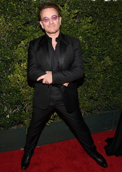 Bono Height Weight Stats