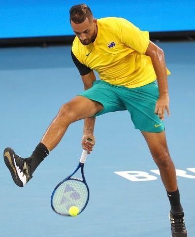 Nick Kyrgios Height Weight Stats