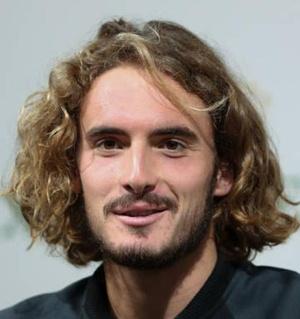 Tennis Player Stefanos Tsitsipas